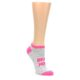 Image of Workout Motivation Women's Ankle Sock 6 Pairs (side-2-front-06)