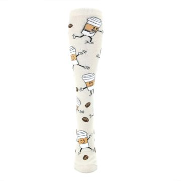Image of Coffee To Go Women's Knee High Socks (front-05)
