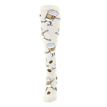 Image of Coffee To Go Women's Knee High Socks (side-2-front-06)