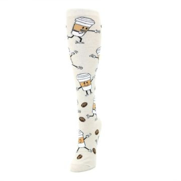 Image of Coffee To Go Women's Knee High Socks (side-2-front-07)