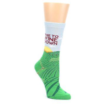Wine-Down-Vineyard-Womens-Dress-Socks-K-Bell-Socks