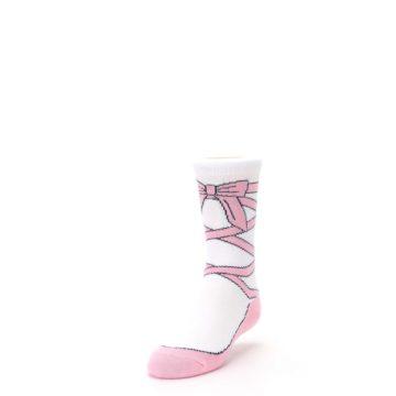 Image of Ballet Slipper Kid's Dress Socks (side-2-front-07)