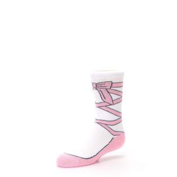 Image of Ballet Slipper Kid's Dress Socks (side-2-09)