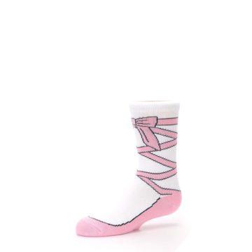 Image of Ballet Slipper Kid's Dress Socks (side-2-10)