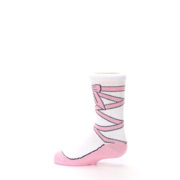 Image of Ballet Slipper Kid's Dress Socks (side-2-13)