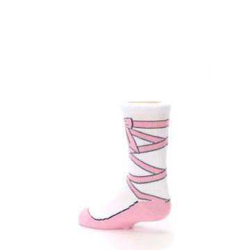 Image of Ballet Slipper Kid's Dress Socks (side-2-back-14)