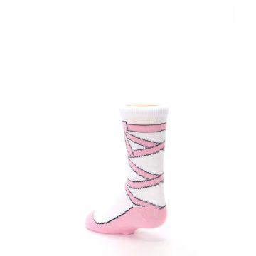 Image of Ballet Slipper Kid's Dress Socks (side-2-back-15)