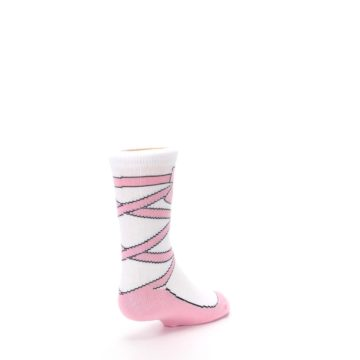 Image of Ballet Slipper Kid's Dress Socks (side-1-back-21)