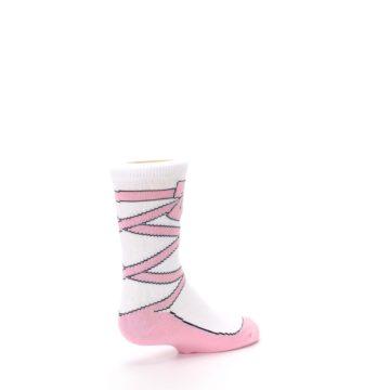 Image of Ballet Slipper Kid's Dress Socks (side-1-back-22)