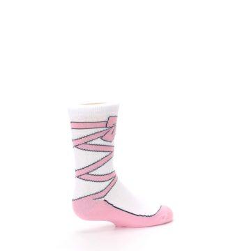 Image of Ballet Slipper Kid's Dress Socks (side-1-23)