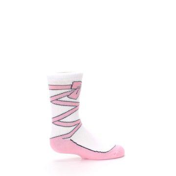 Image of Ballet Slipper Kid's Dress Socks (side-1-24)