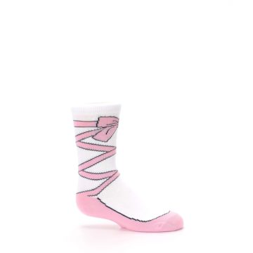 Image of Ballet Slipper Kid's Dress Socks (side-1-25)