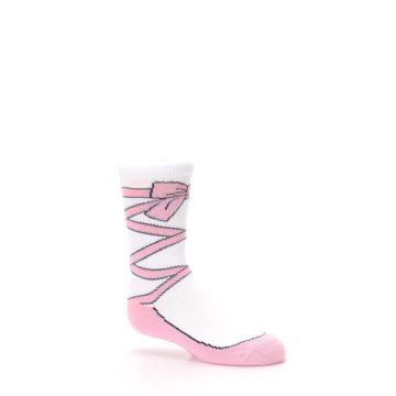 Image of Ballet Slipper Kid's Dress Socks (side-1-26)