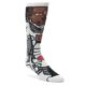 Image of Justice League 6 Pack Gift Box Men's Casual Socks (front-05)