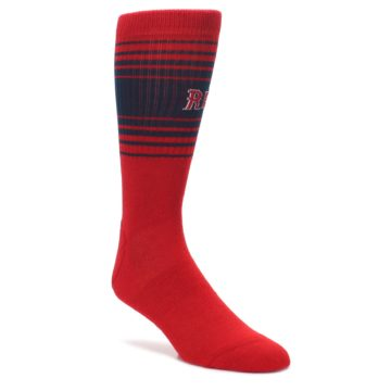 Boston-Red-Sox-Mens-Athletic-Crew-Socks-PKWY