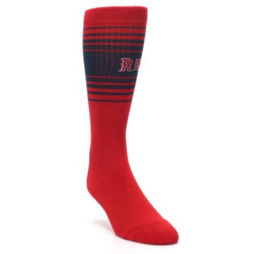 Image of Boston Red Sox Men's Athletic Crew Socks (side-1-front-02)