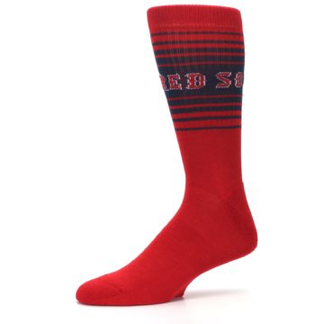 Image of Boston Red Sox Men's Athletic Crew Socks (side-2-10)