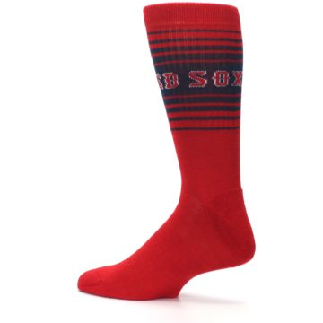 Image of Boston Red Sox Men's Athletic Crew Socks (side-2-13)