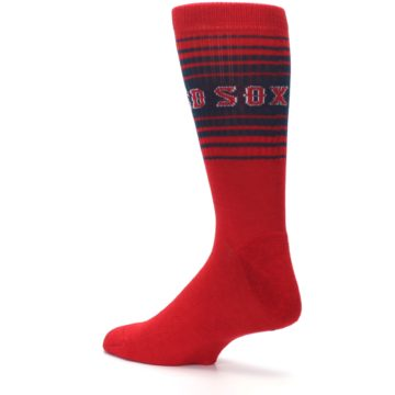 Image of Boston Red Sox Men's Athletic Crew Socks (side-2-back-14)