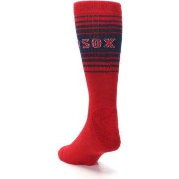 Image of Boston Red Sox Men's Athletic Crew Socks (side-2-back-16)