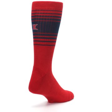 Image of Boston Red Sox Men's Athletic Crew Socks (side-1-back-21)