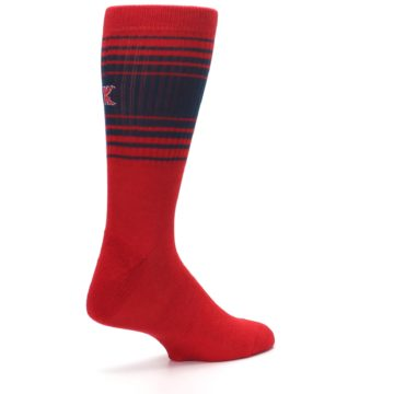 Image of Boston Red Sox Men's Athletic Crew Socks (side-1-back-22)