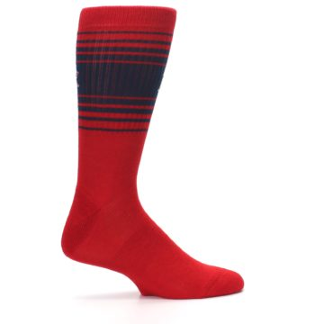 Image of Boston Red Sox Men's Athletic Crew Socks (side-1-24)