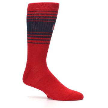 Image of Boston Red Sox Men's Athletic Crew Socks (side-1-25)
