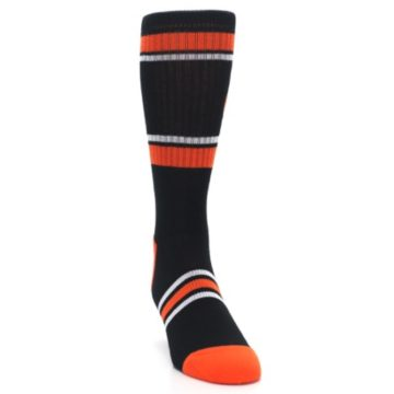 Image of Baltimore Orioles Men's Athletic Crew Socks (side-1-front-03)