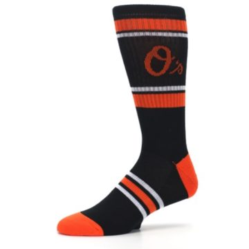 Image of Baltimore Orioles Men's Athletic Crew Socks (side-2-10)