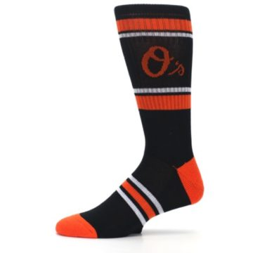 Image of Baltimore Orioles Men's Athletic Crew Socks (side-2-11)