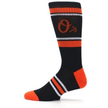 Image of Baltimore Orioles Men's Athletic Crew Socks (side-2-12)
