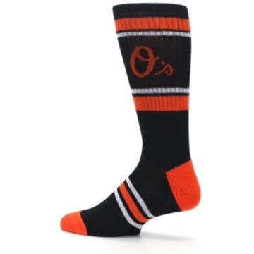 Image of Baltimore Orioles Men's Athletic Crew Socks (side-2-13)
