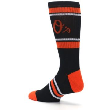 Image of Baltimore Orioles Men's Athletic Crew Socks (side-2-back-14)