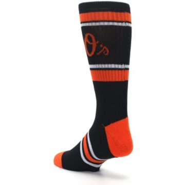 Image of Baltimore Orioles Men's Athletic Crew Socks (side-2-back-15)