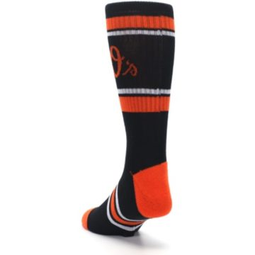 Image of Baltimore Orioles Men's Athletic Crew Socks (side-2-back-16)