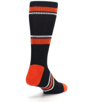 Image of Baltimore Orioles Men's Athletic Crew Socks (side-1-back-21)