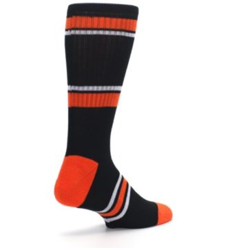Image of Baltimore Orioles Men's Athletic Crew Socks (side-1-back-22)