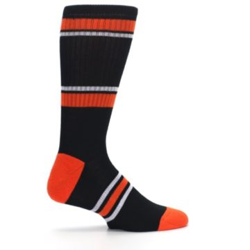 Image of Baltimore Orioles Men's Athletic Crew Socks (side-1-24)