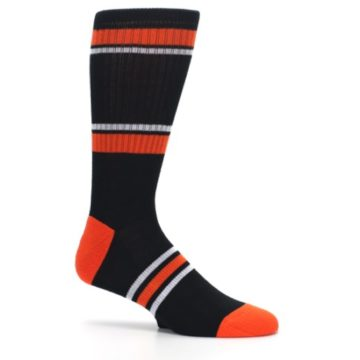 Image of Baltimore Orioles Men's Athletic Crew Socks (side-1-25)
