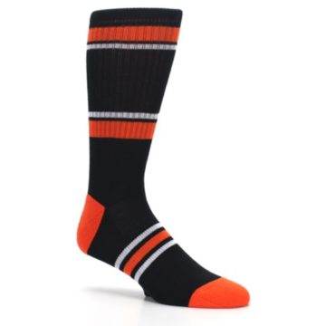 Image of Baltimore Orioles Men's Athletic Crew Socks (side-1-26)