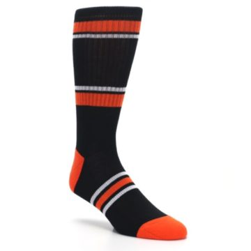 Image of Baltimore Orioles Men's Athletic Crew Socks (side-1-27)