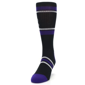 Image of Colorado Rockies Men's Athletic Crew Socks (side-2-front-06)