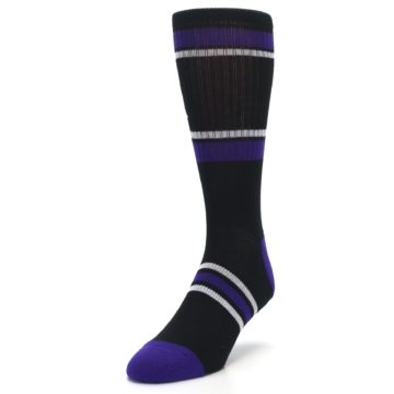 Image of Colorado Rockies Men's Athletic Crew Socks (side-2-front-07)