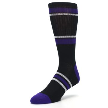 Image of Colorado Rockies Men's Athletic Crew Socks (side-2-front-08)