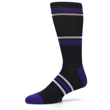 Image of Colorado Rockies Men's Athletic Crew Socks (side-2-10)