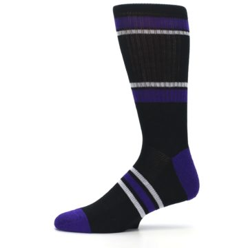 Image of Colorado Rockies Men's Athletic Crew Socks (side-2-11)