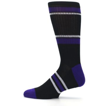 Image of Colorado Rockies Men's Athletic Crew Socks (side-2-12)