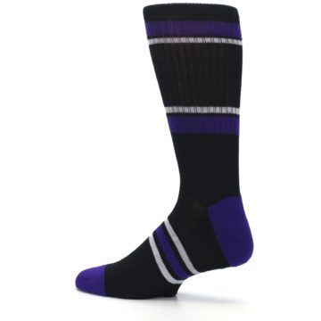 Image of Colorado Rockies Men's Athletic Crew Socks (side-2-13)