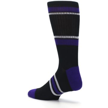 Image of Colorado Rockies Men's Athletic Crew Socks (side-2-back-14)